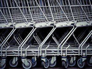 Zakupy w sklepie budowlanym