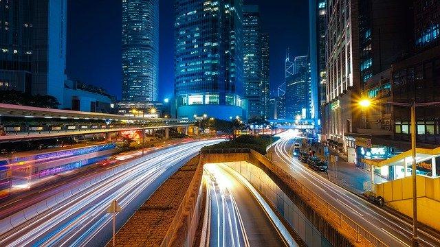 nowoczesna ulica